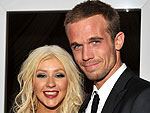 Christina Aguilera Toasts Burlesque with Champagne | Cam Gigandet, Christina Aguilera