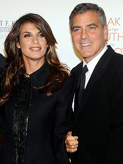 Kirstie Alley Live Tweets George Clooney&#39;s 50th Birthday Eve Dinner | Elisabetta Canalis, George Clooney