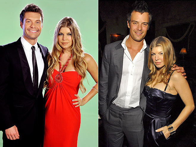 photo | Fergie, Josh Duhamel, Ryan Seacrest