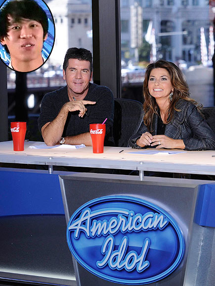 photo | Shania Twain, Simon Cowell