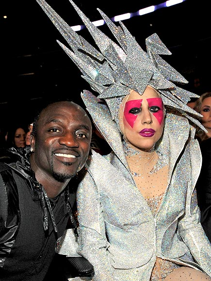 photo | Akon, Lady Gaga