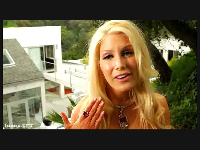 heidi montag wedding dress. house heidi montag wedding