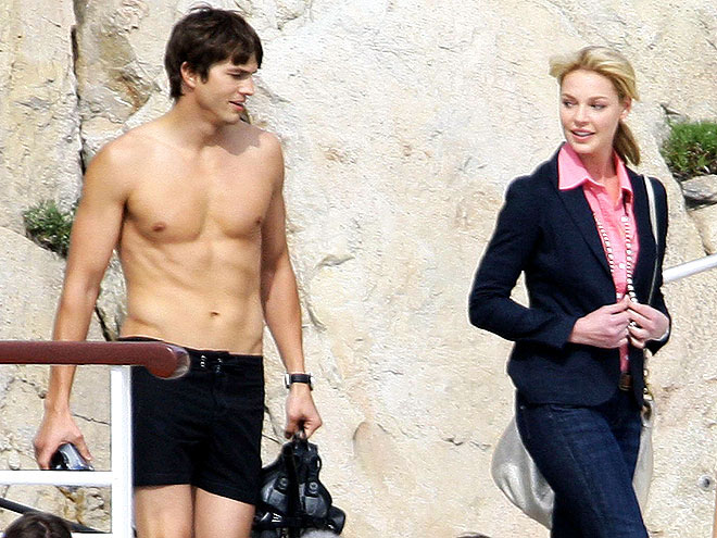 photo | Ashton Kutcher, Katherine Heigl