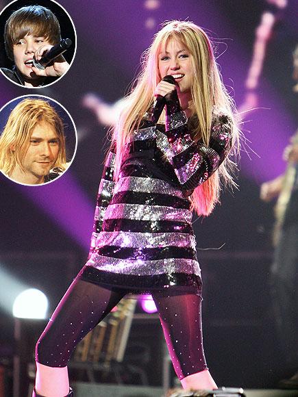 photo | Justin Bieber, Miley Cyrus