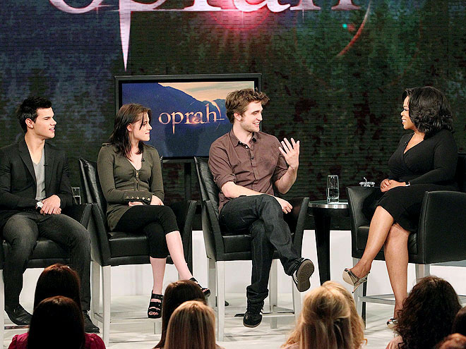 photo | Kristen Stewart, Oprah Winfrey, Robert Pattinson, Taylor Lautner