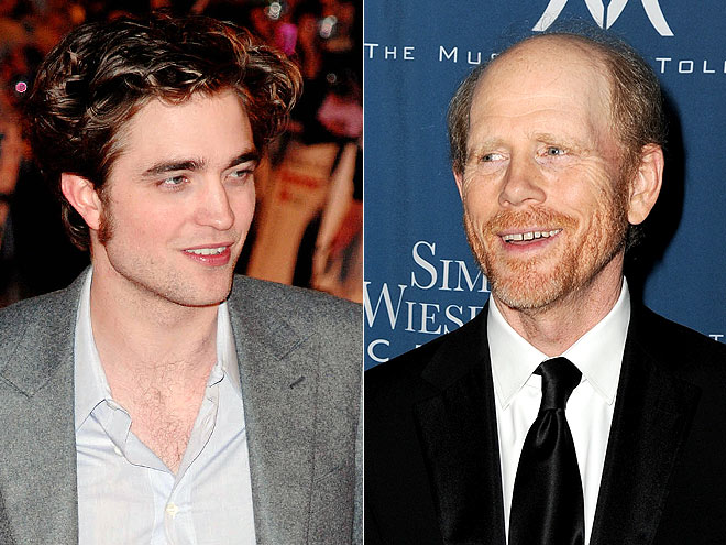photo | Robert Pattinson, Ron Howard