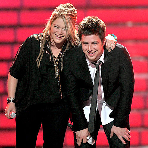 photo | Crystal Bowersox, Lee DeWyze