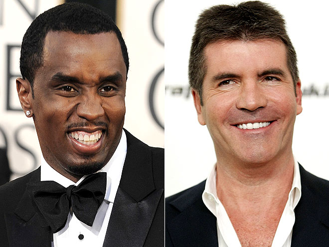 photo | Sean \P. Diddy\ Combs, Simon Cowell