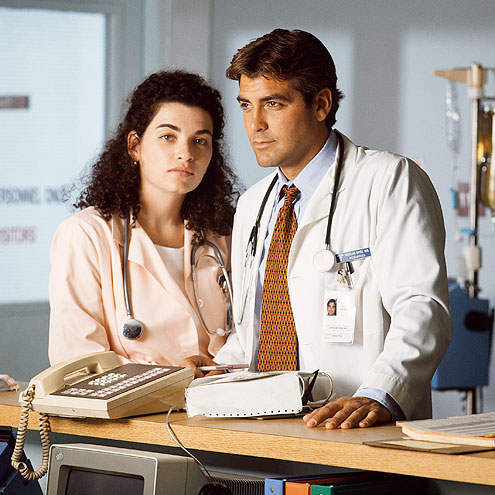 photo | George Clooney, Julianna Margulies