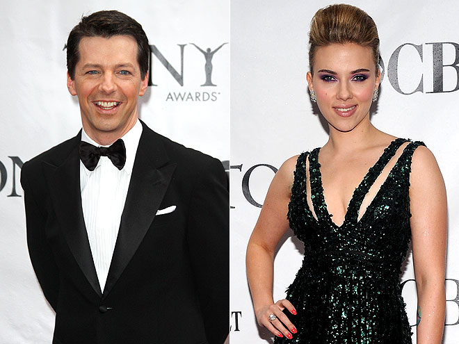 photo | Scarlett Johansson, Sean Hayes