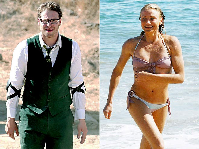 photo | Cameron Diaz, Seth Rogen