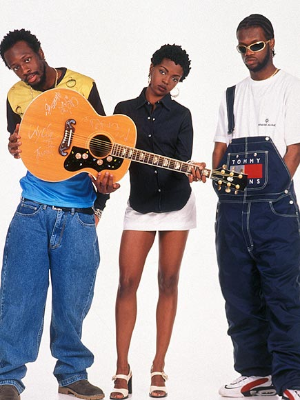 photo | Lauryn Hill, Pras, Wyclef Jean