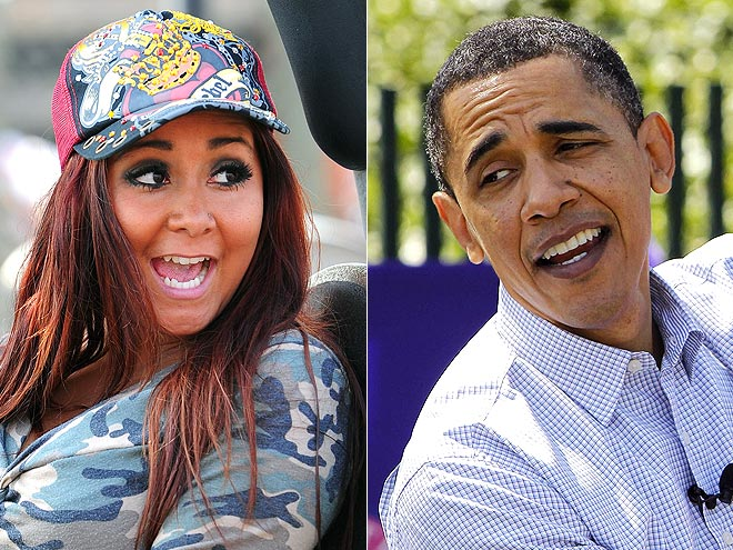 photo | Barack Obama, Nicole Polizzi