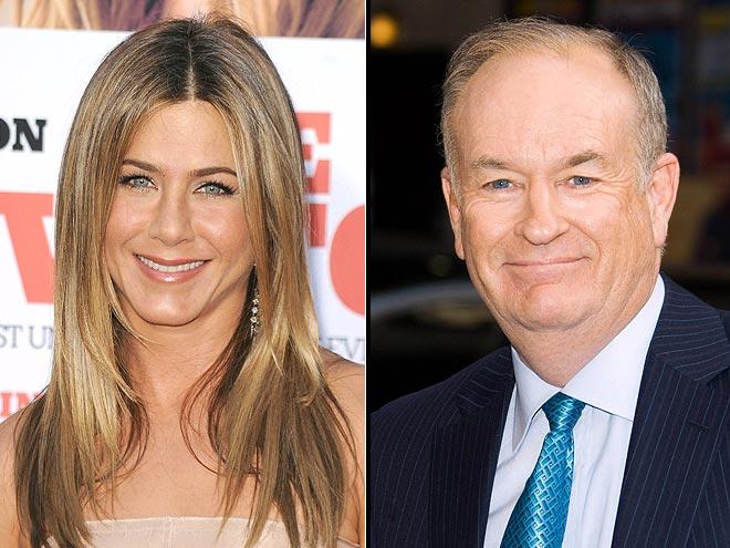 photo | Bill O'Reilly, Jennifer Aniston