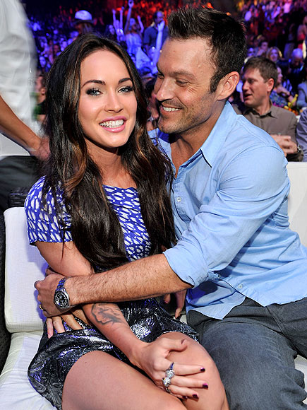 photo | Brian Austin Green, Megan Fox