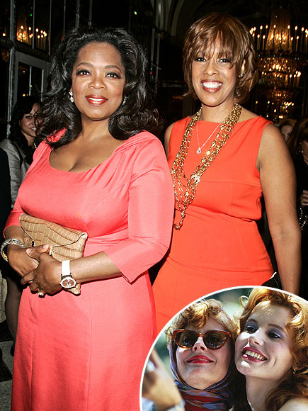 photo | Gayle King, Oprah Winfrey