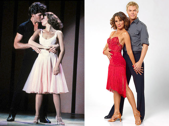 photo | Derek Hough, Jennifer Grey, Patrick Swayze