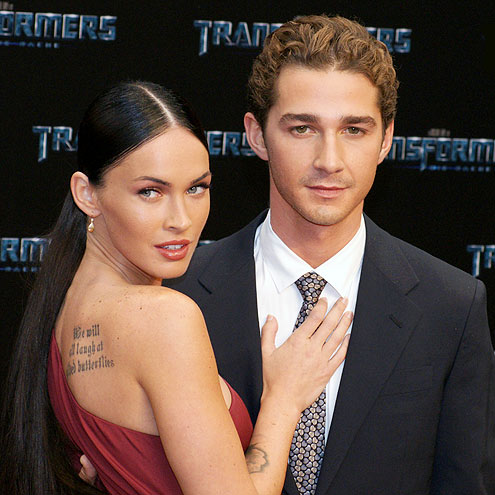 photo | Megan Fox, Shia LaBeouf