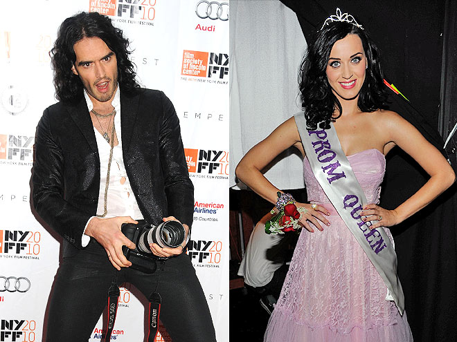 photo | Katy Perry, Russell Brand