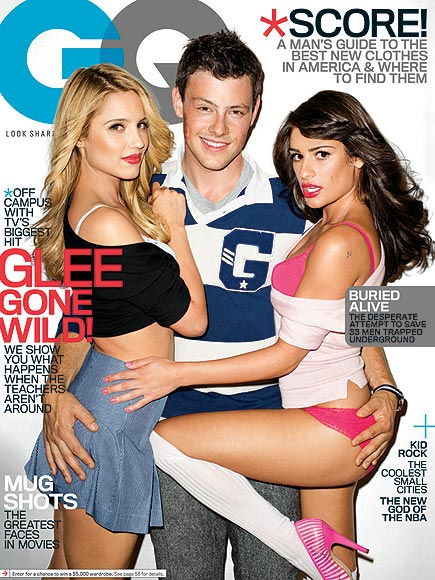 photo | Cory Monteith, Dianna Agron, Lea Michele