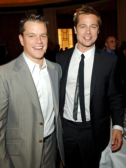 photo | Brad Pitt, Matt Damon