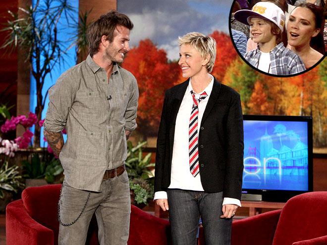 photo | Ellen DeGeneres, Victoria Beckham