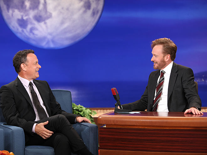 photo | Conan O'Brien, Tom Hanks