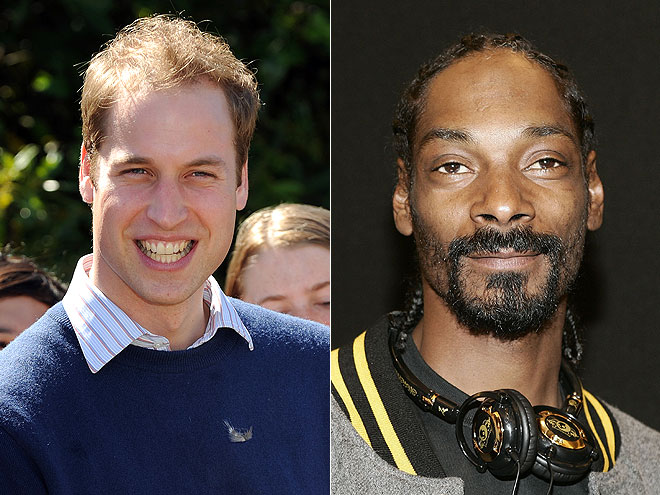  photo | Prince William, Snoop Dogg