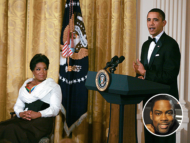 photo | Barack Obama, Chris Rock, Oprah Winfrey