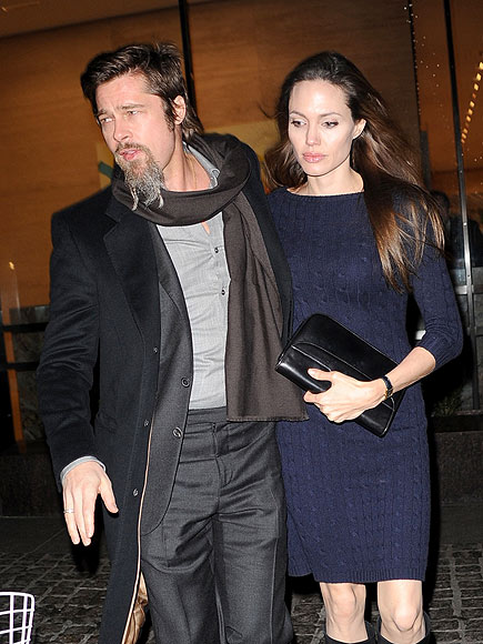 NEW YORK photo | Angelina Jolie, Brad Pitt