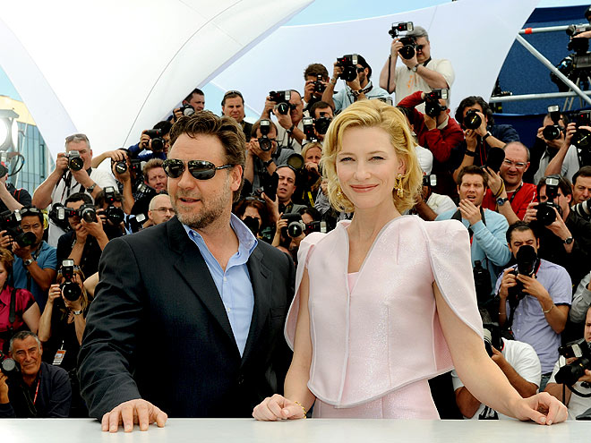 RUSSELL CROWE & CATE BLANCHETT photo | Cate Blanchett, Russell Crowe