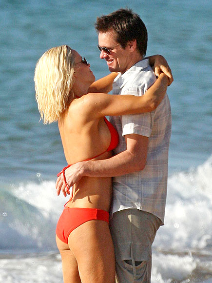 SUNSET ROMANCE photo | Jenny McCarthy, Jim Carrey
