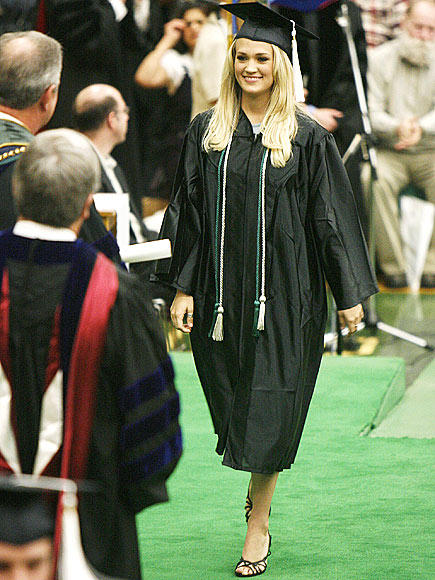 GRADUATION DAY photo | Carrie Underwood