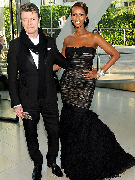 DAVID BOWIE & IMAN photo | David Bowie, Iman