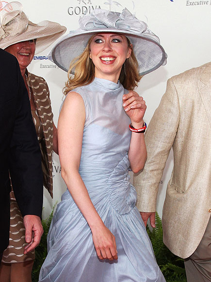 OFF TO THE RACES photo | Chelsea Clinton