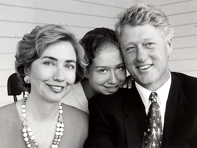 FAMILY PORTRAIT photo | Bill Clinton, Chelsea Clinton, Hillary Rodham Clinton