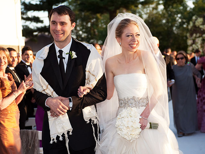 Chelsea Clinton's Storybook Wedding - HERE COMES THE BRIDE ...