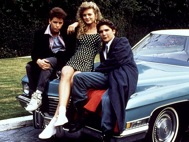 IN THE DRIVER'S SEAT photo | Corey Feldman, Corey Haim, Heather Graham