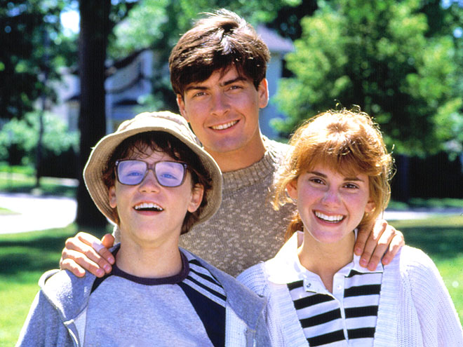 GEEK CHIC photo | Charlie Sheen, Corey Haim, Kerri Green