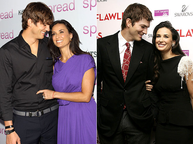 SUPPORT SYSTEM photo | Ashton Kutcher, Demi Moore