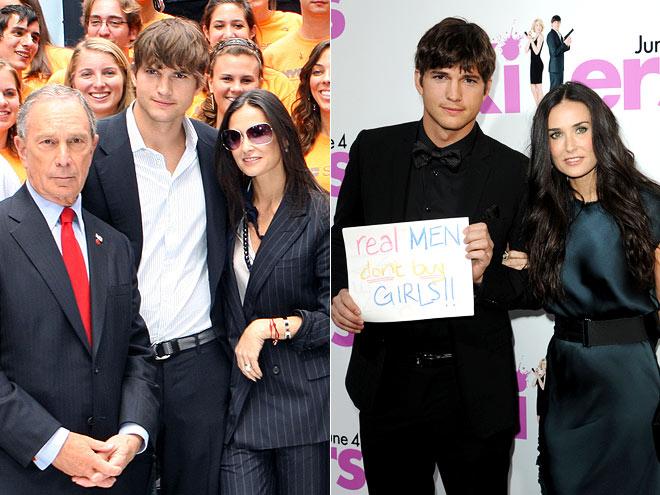 JUST CAUSES photo   Ashton Kutcher, Demi Moore