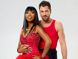 Dancing: Brandy and Maksim Chmerkovskiy Quickstep into the Lead