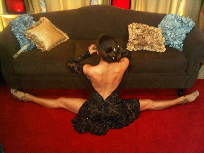 A LEG UP  photo | Jennifer Grey