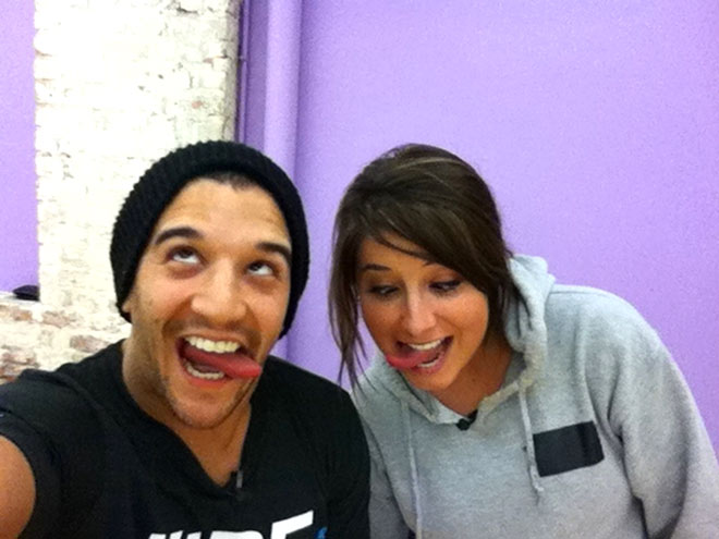 TONGUES A-WAGGING