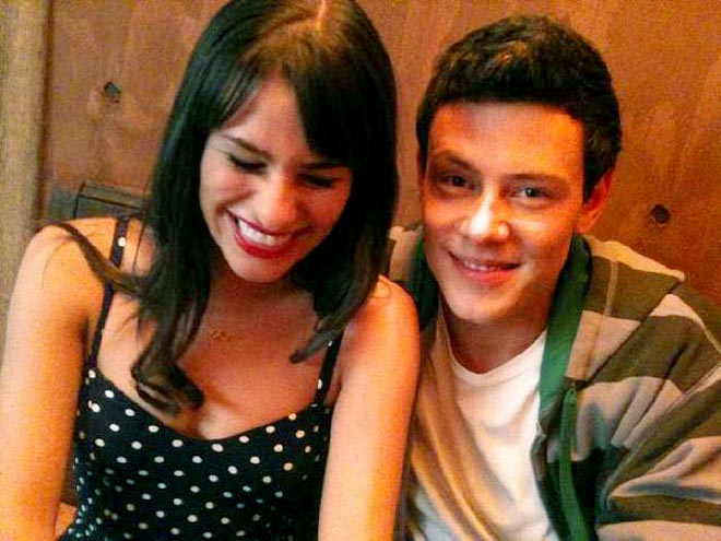 LAUGH TRACK photo | Cory Monteith, Lea Michele