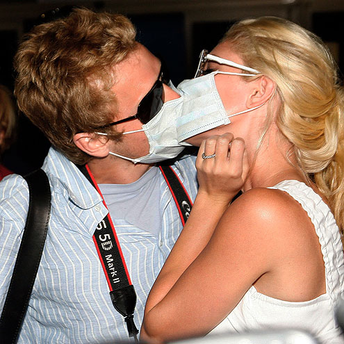 MASKED MARRIEDS photo | Heidi Montag, Spencer Pratt