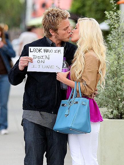 STOLEN KISS photo | Heidi Montag, Spencer Pratt