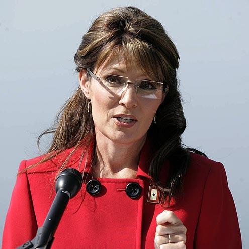 CALL A PRESS CONFERENCE photo | Sarah Palin