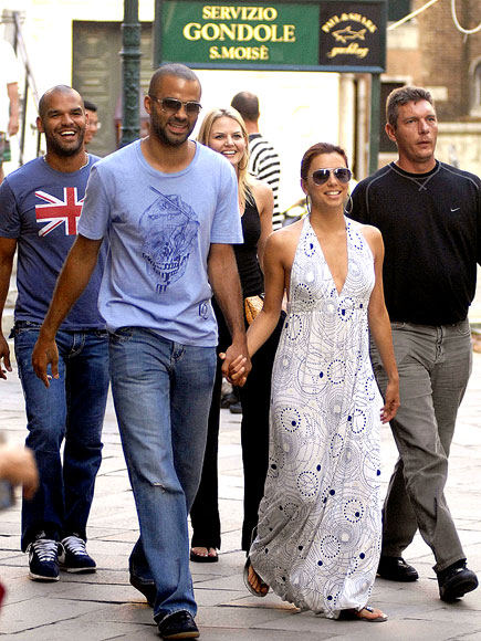 TOUCH AND GO  photo | Eva Longoria, Tony Parker