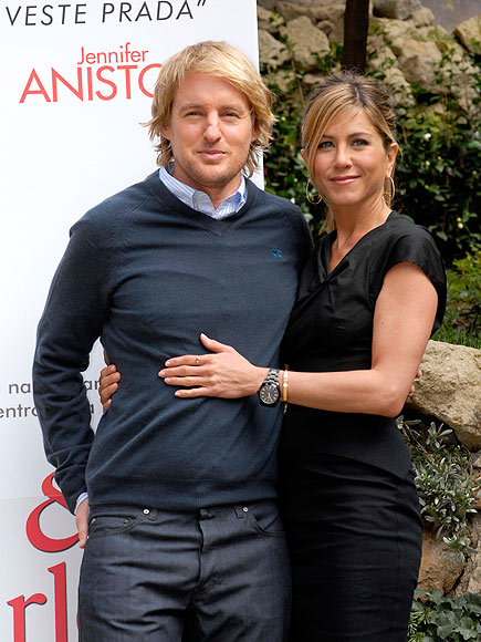 VIVA ITALIA photo | Jennifer Aniston, Owen Wilson